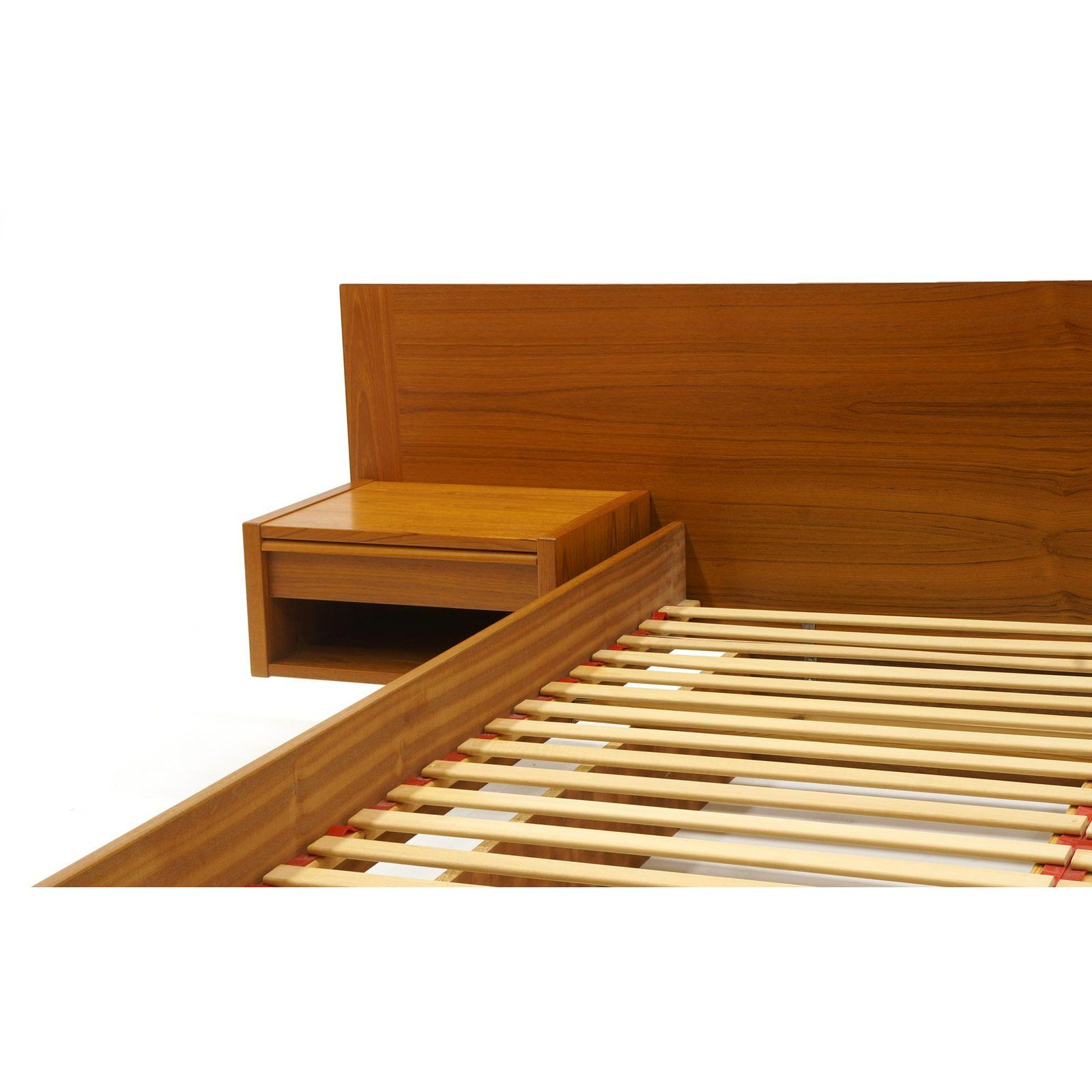 Danish Modern Jesper Danish Modern Teak Queen Platform Bed