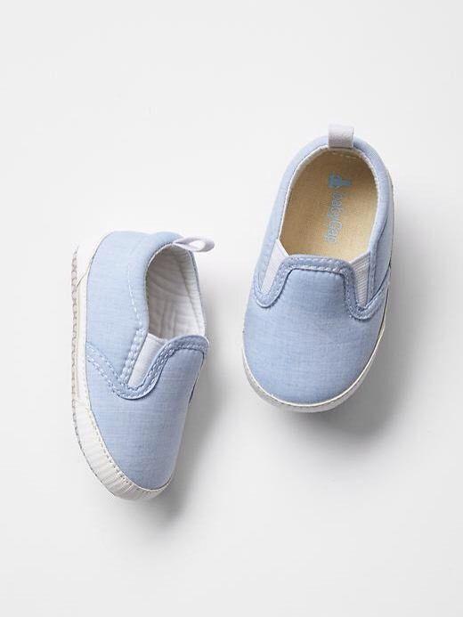 Gap Baby Boy Nwt Size 6 12 Months Light Blue Elastic Slip On Sneakers Shoes Calcados Para Meninas Roupas De Bebe Moda De Crianca