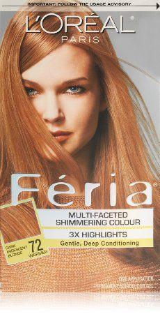 Amazon Com L Oreal Paris Feria Hair Color 72 Dark Iridescent