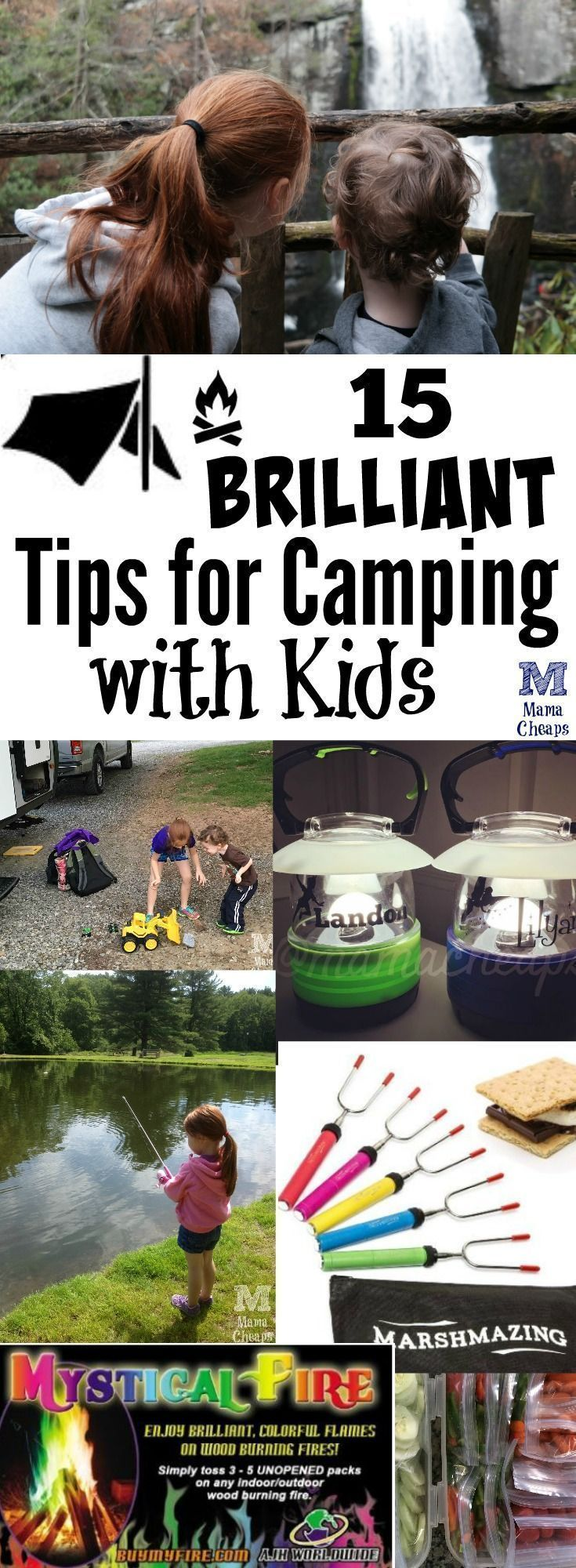 15 Brilliant Tips for Camping with Kids | Mama Cheaps®
