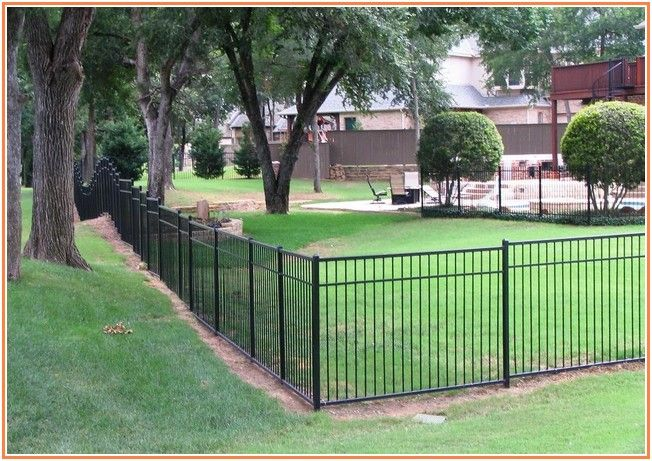 Confounded Decorative Wrought Iron Fence Panels