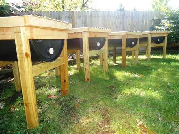 Homestead Survival: 55 Gallon Top Bar Barrel Bee Hive By Rosalyn