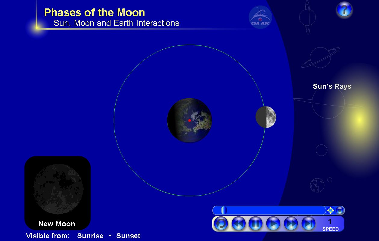 Phases Of The Moon With Images