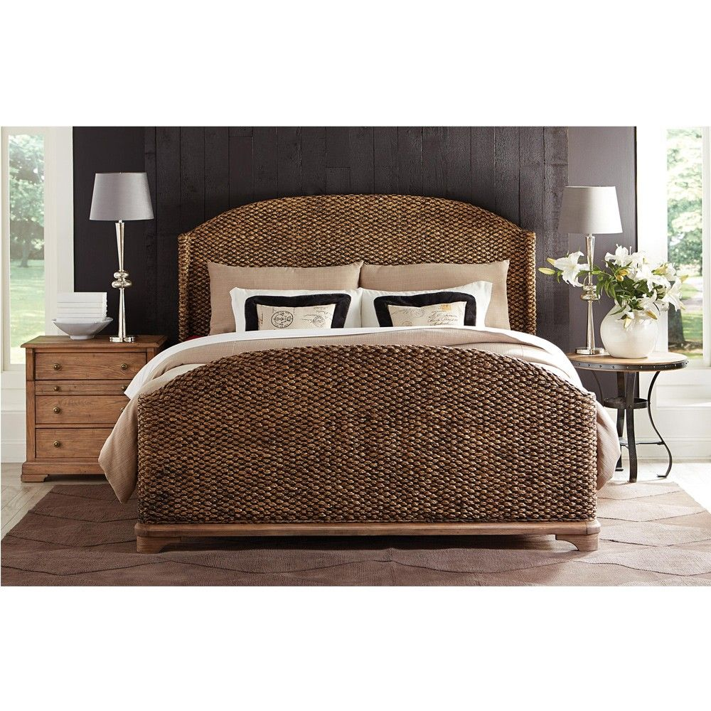 riverside furniture 39 s sherborne seagrass woven bed in