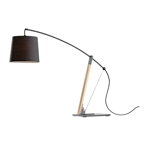 This beautiful piece not only provides you with the right amount of concentrated glare free light, but also manages to amplify the beauty of its surroundings, even when not in use. I