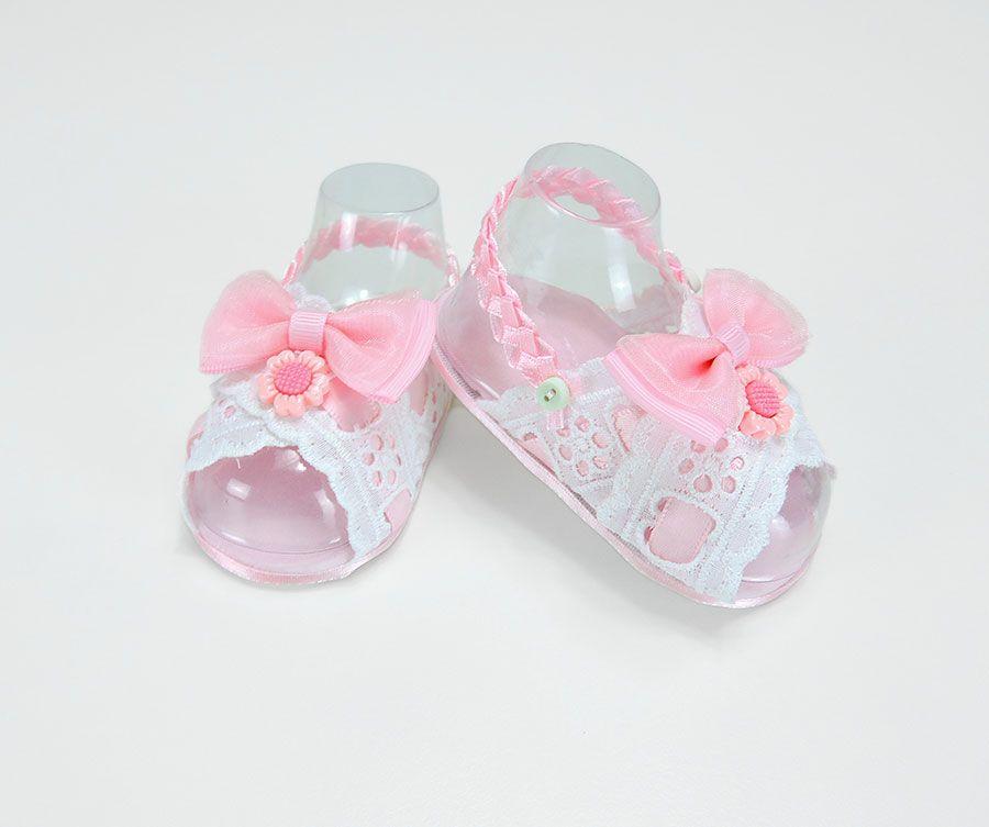 al por mayor online a un precio razonable excepcional gama de estilos y colores Sandalias Rosa en Cinta para Bebé Niña | Zapatos de Bebé ...