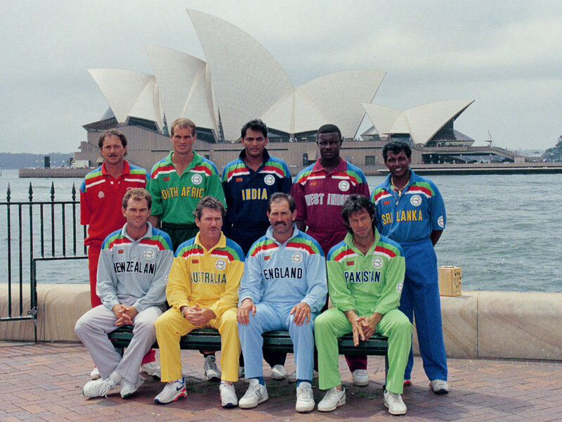 1992 World Cup Captains Cricket World Cup World Cup Cricket Poster