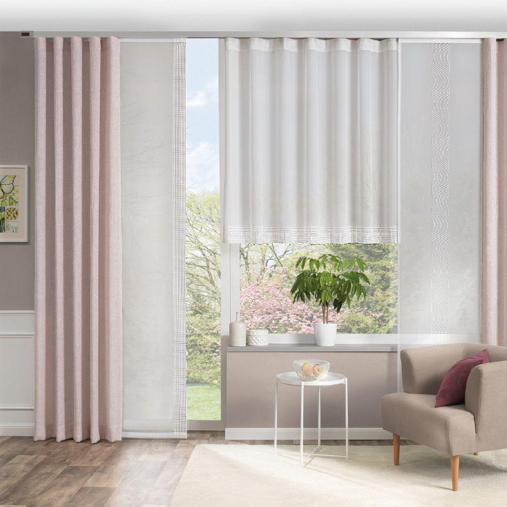Vorhang-Deko für Ihr Wohnzimmer  Gardinen wohnzimmer modern