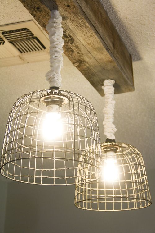 Make Your Own Light Fixtures Basket Lighting Diy Light