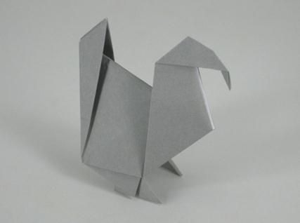 Animal - Origami Papel Turquía