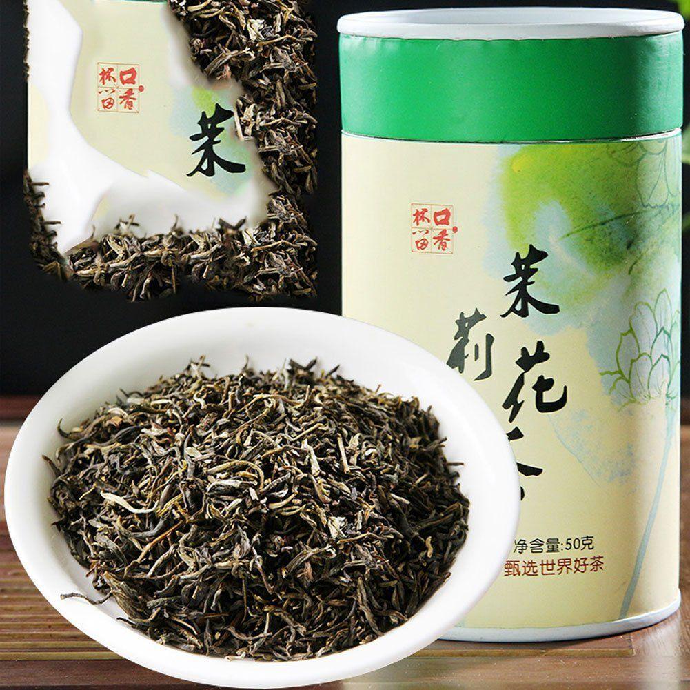 Chinese Premium Jasmine Loose Leaf Green Tea (50g/1.76 oz