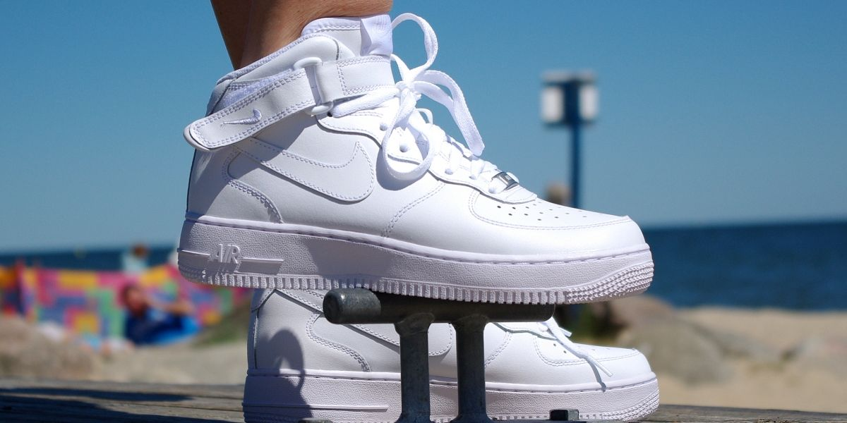 official photos acc1f a6cfc NIKE AIR FORCE 1 MID GS 314195 113   funkyshoes.pl