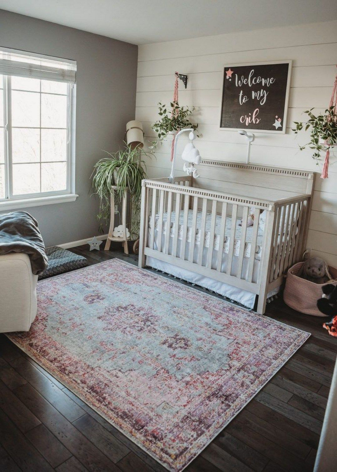 178 baby girl nursery in 2020   boho baby room, baby room