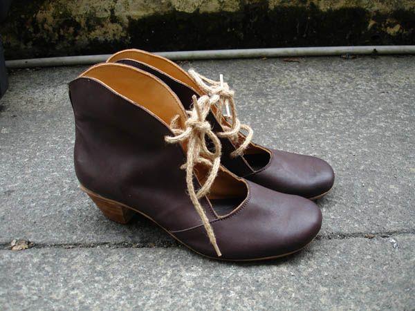 fc5f0628c8a6 souliers, chaussures artisanales en cuir pour femme - création Julie Pillet