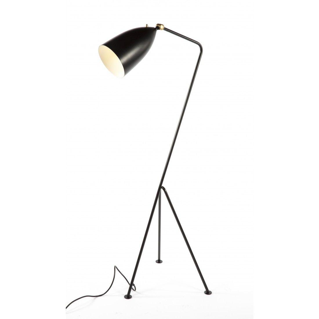 Grasshopper floor lamp black aloadofball Gallery