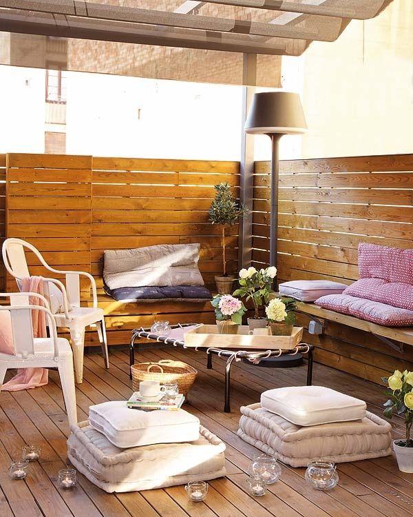 terrasse Home - outside Pinterest Balkon