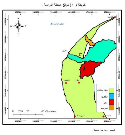 الجغرافيا دراسات و أبحاث جغرافية تحليل خارطة التباين المكاني لدرجات خطورة أودية الق Geography Places To Visit Visiting