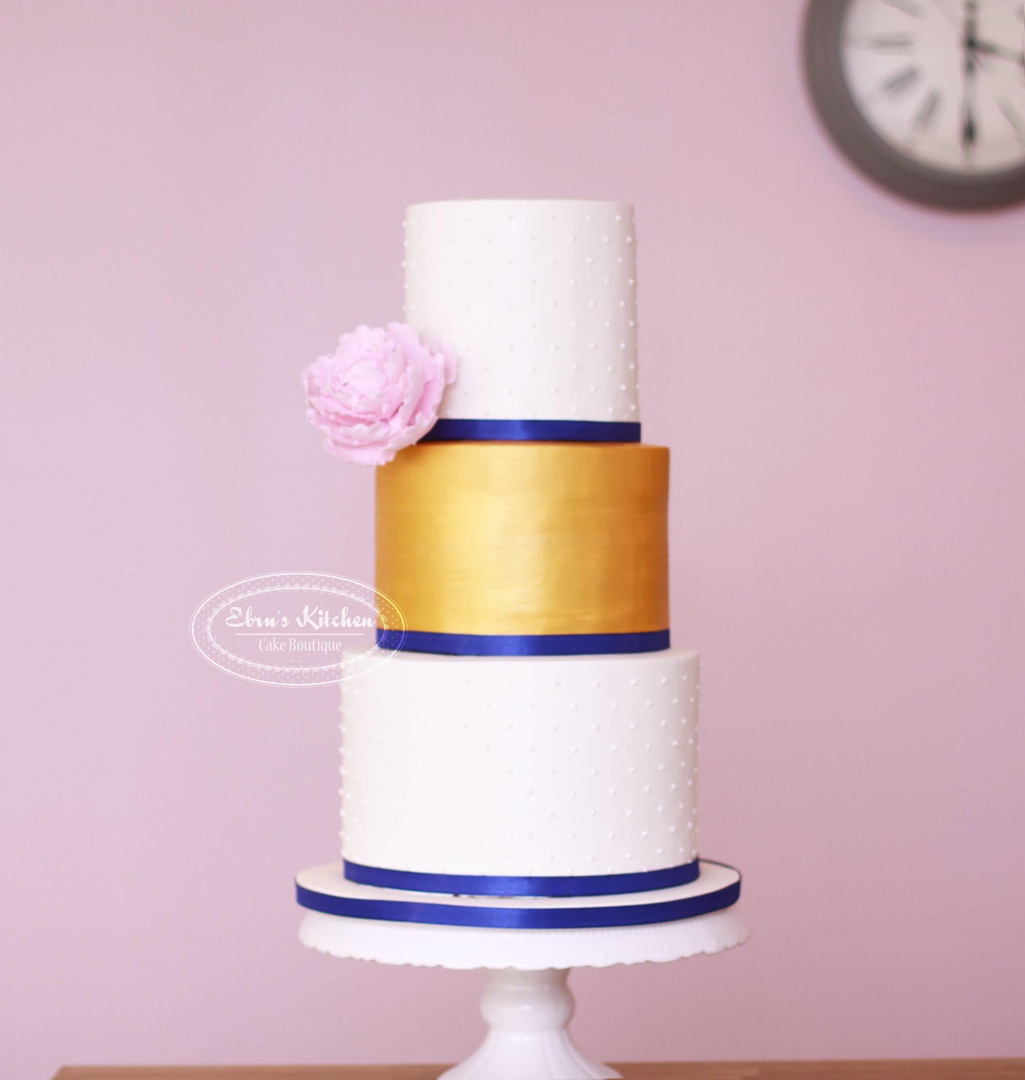 Wedding Cake Gold Cakes Pasta Weddings Torte Bodas Recipes