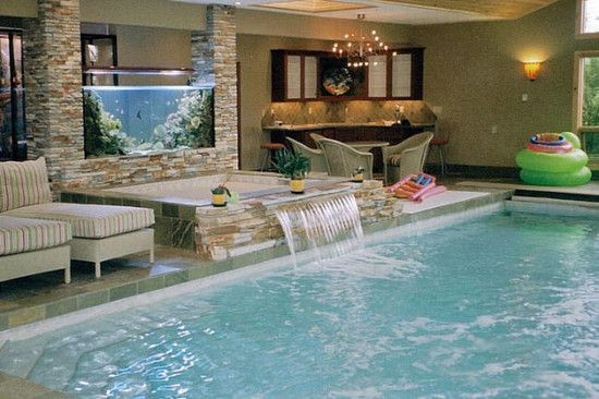 Cool Indoor Pools With Fish tropical pool design, pictures, remodel, decor and ideas - page 4
