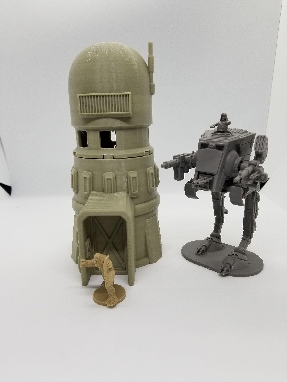 3d Printed Star Wars Legion Compatible Desert Tower / Corvus