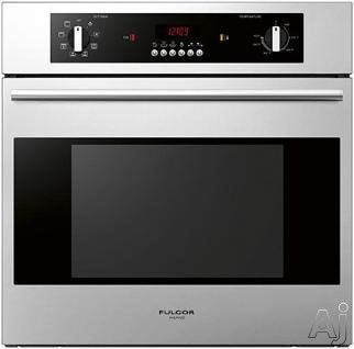 Fulgor Milano F1sm24s1 24 Single Electric Wall Oven With 2 2 Cu