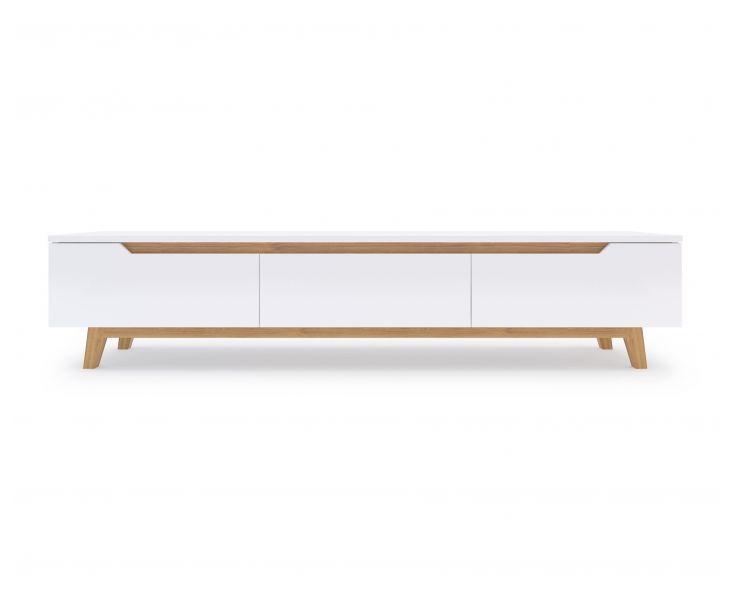 795 The Mid Century Danish Design Of Mikkel TV Stand Features Tv CenturyModern Living Room