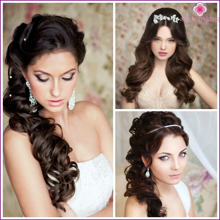 Wedding Hairstyles 2015 - fashion trends and trends, photos and videos