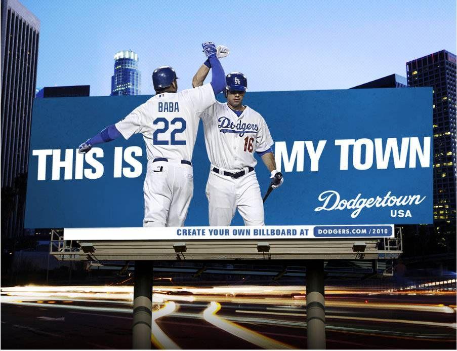 Dodgertown billboard dodgers los angeles dodgers
