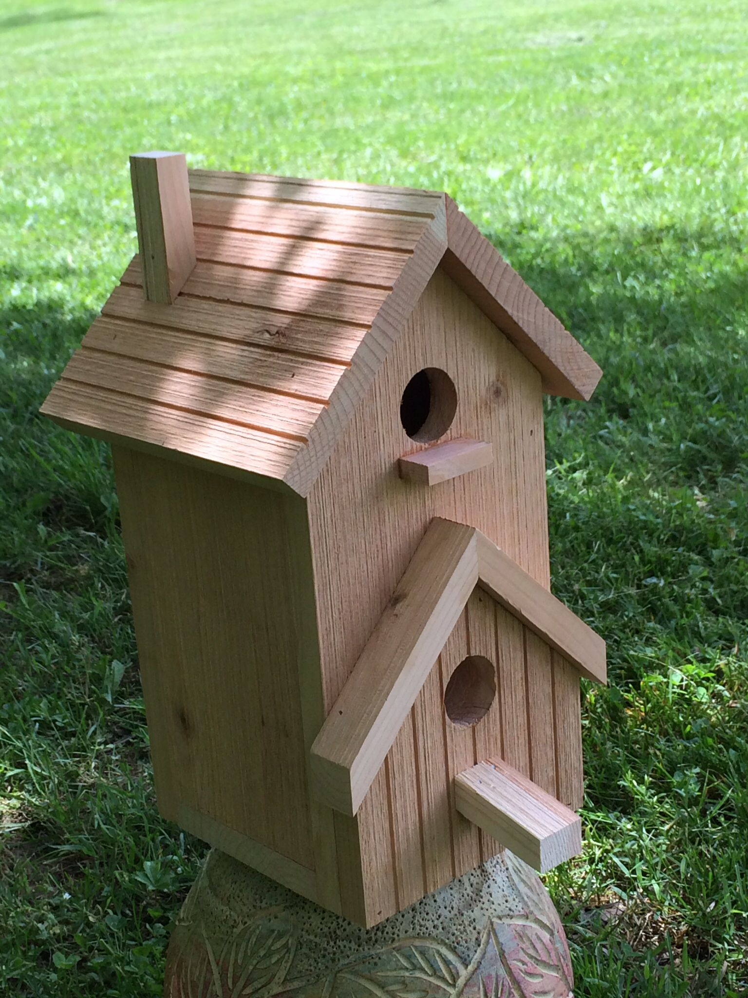 country birdhouse   skwoodworks   Bird houses, Decorative ... on country benches plans, country gardens plans, purple martin house plans, country furniture plans, country landscaping plans, country kitchen plans, country home decor plans, country cottage bird house,