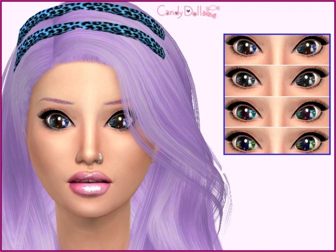 Eyes and lipsticks at Candydoll Fashion via Sims 4 Updates