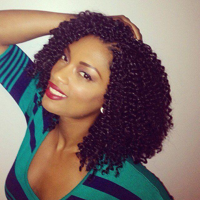 Crochet Braids Protective Hairstyles Using Kanekalon Hair Natural Hair Styles Hair Waves Crochet Braids Hairstyles