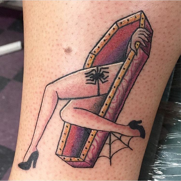49 Beautiful and Amazing Halloween Tattoos for 2019 - Page ...