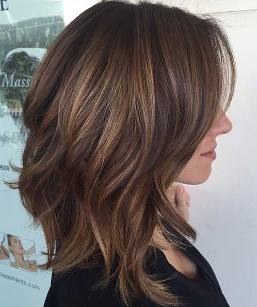 Medium Length Bob Hairstyles For Fine Hair Medium Layered Bob Hairstyles For Fine Hair  Hair  Pinterest