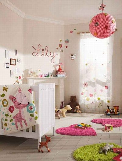 1000 images about chambre bb fille on pinterest - Idee Chambre Bebe Fille
