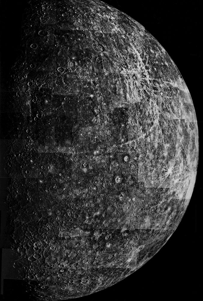 Mariner 10 Mercury | Planet Mercury | Solar system images ...