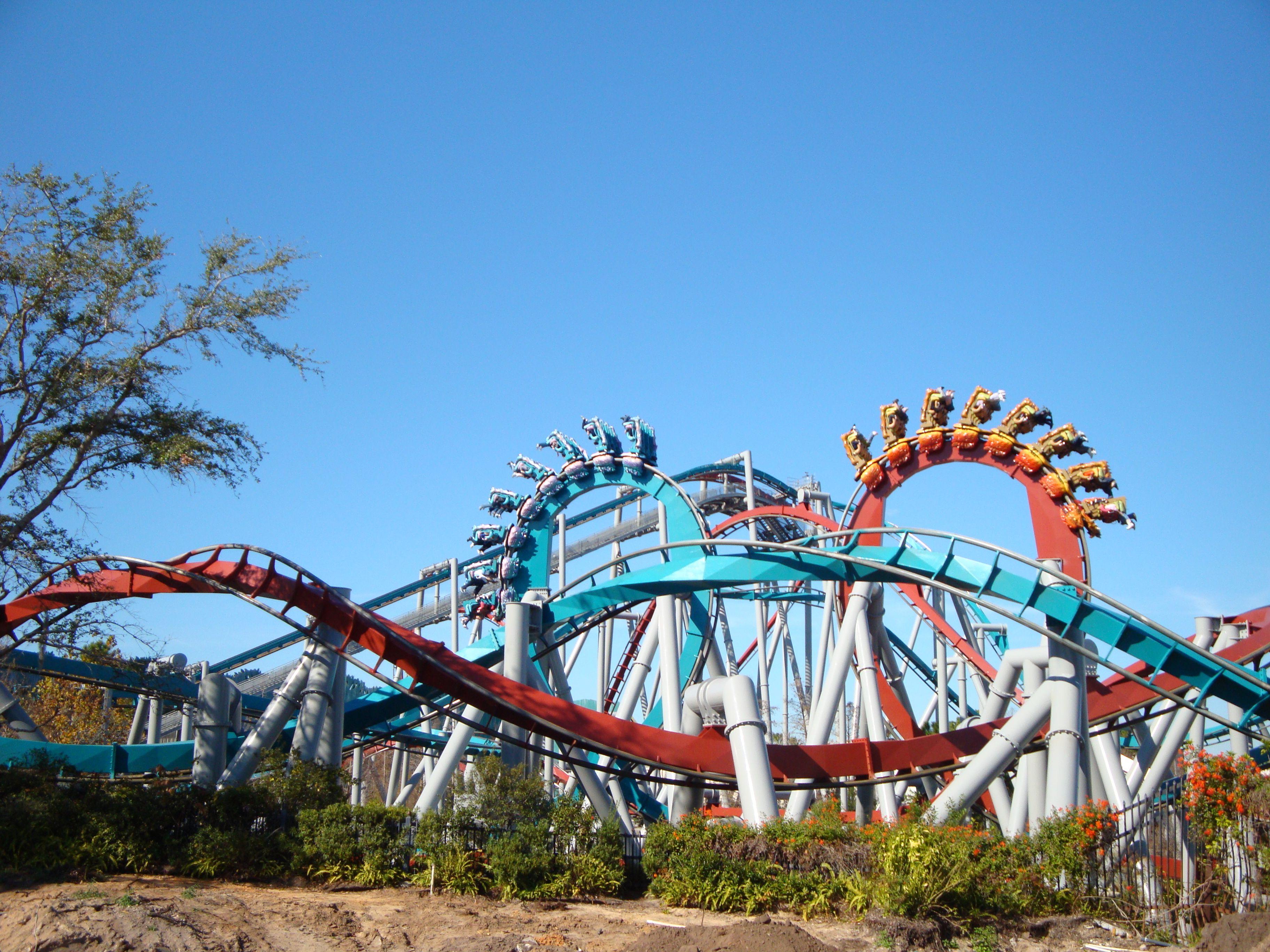 Mid Florida Painting Universal Parks Amusement Park Rides Islands Of Adventure