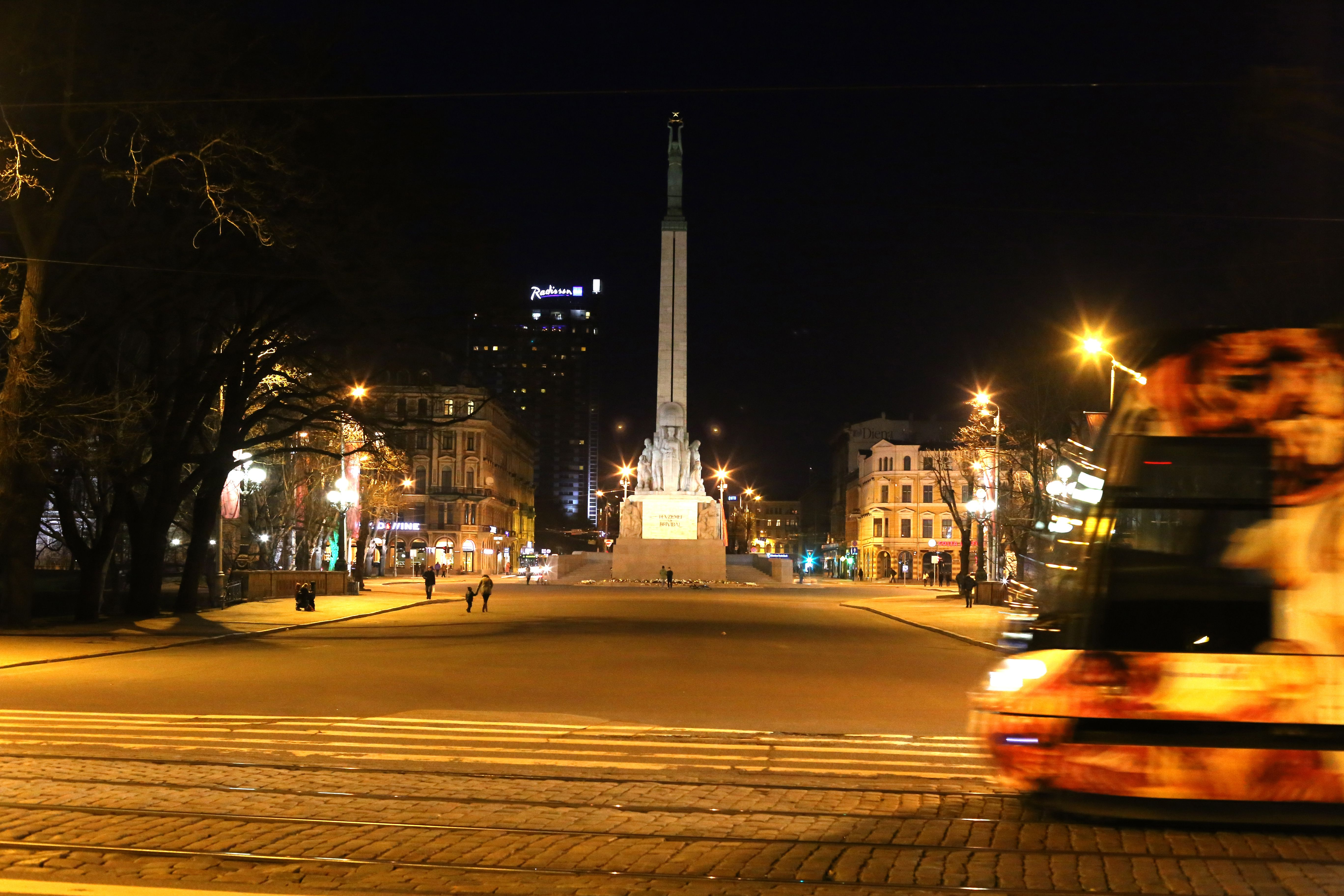 The Freedom Monument Has Been Rigas Central Landmark For Almost A