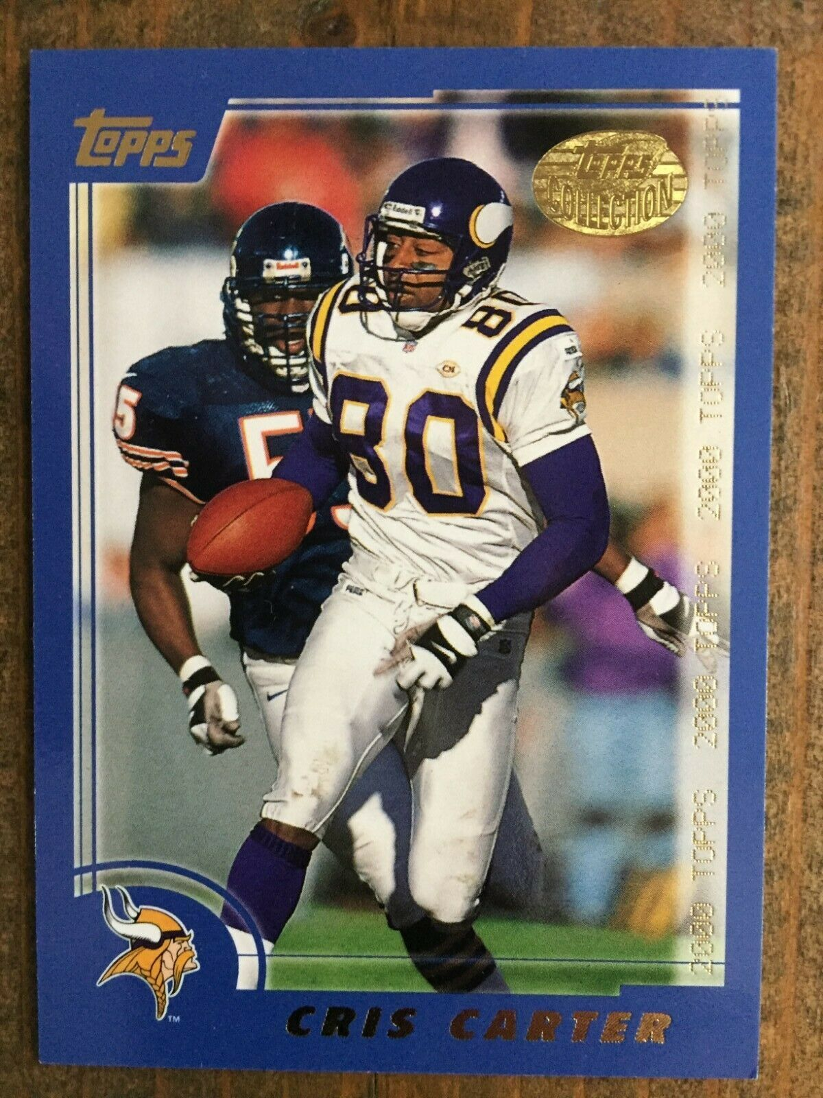 2000 Topps 80 Cris Carter Minnesota Vikings Hall Of Fame Receiver Nm Nice In 2020 Football Cards Cris Carter Minnesota Vikings