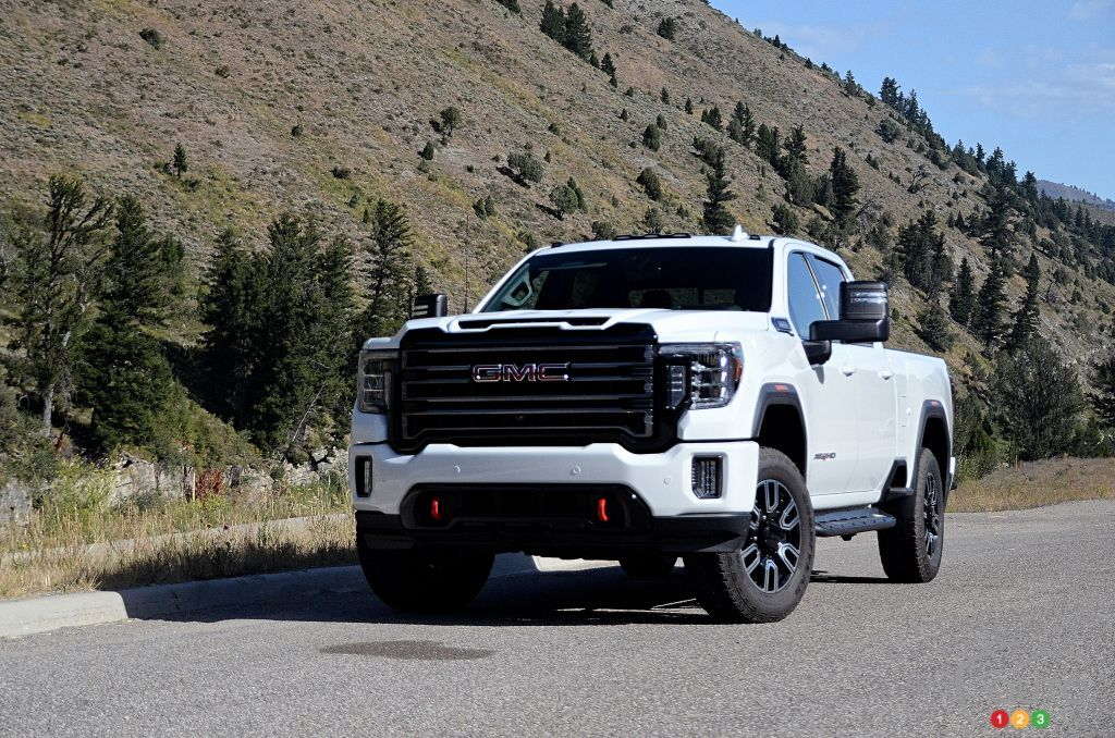 2020 Gmc Sierra Hd At4 First Drive Gmc Sierra Gmc Gmc 2500