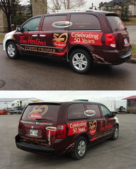 The New Tim Hortons Coffee Cruiser by Canawrap