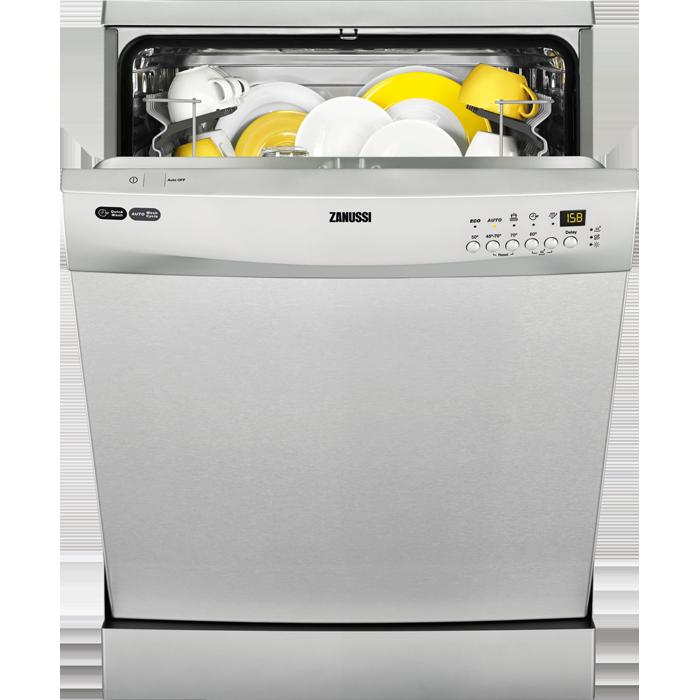 Zanussi Freestanding Dishwasher Zdf26001xa Freestanding