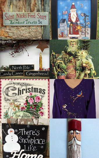 Signs and Sights of Christmas by Marsha Greene on Etsy--Pinned with TreasuryPin.com