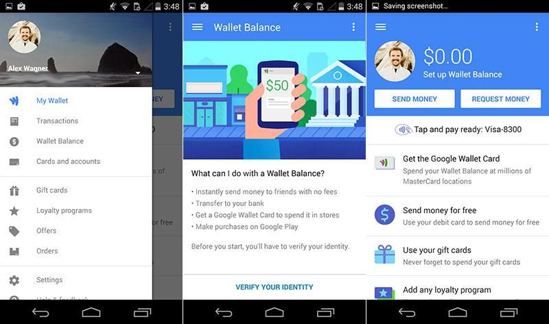 Google Wallet, Google Play Games Android apps get Material Design ...
