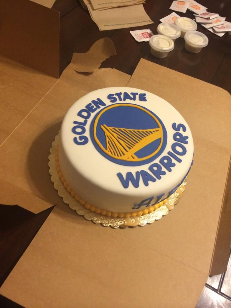 Islangfreedom On With Images Golden State Warriors Cake
