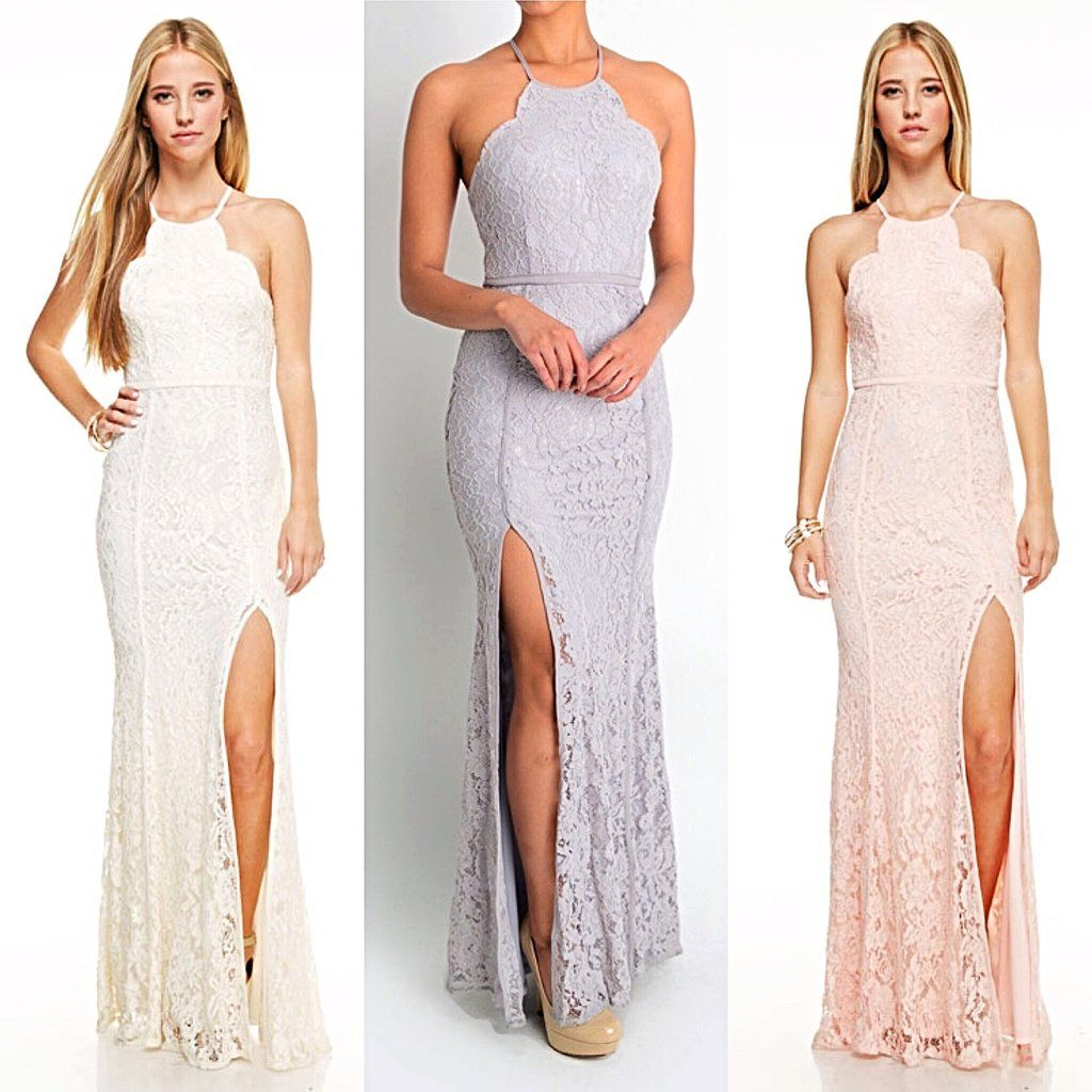 Affordable Lavender Grey Blush Long Bridesmaid dress Evening gown ...
