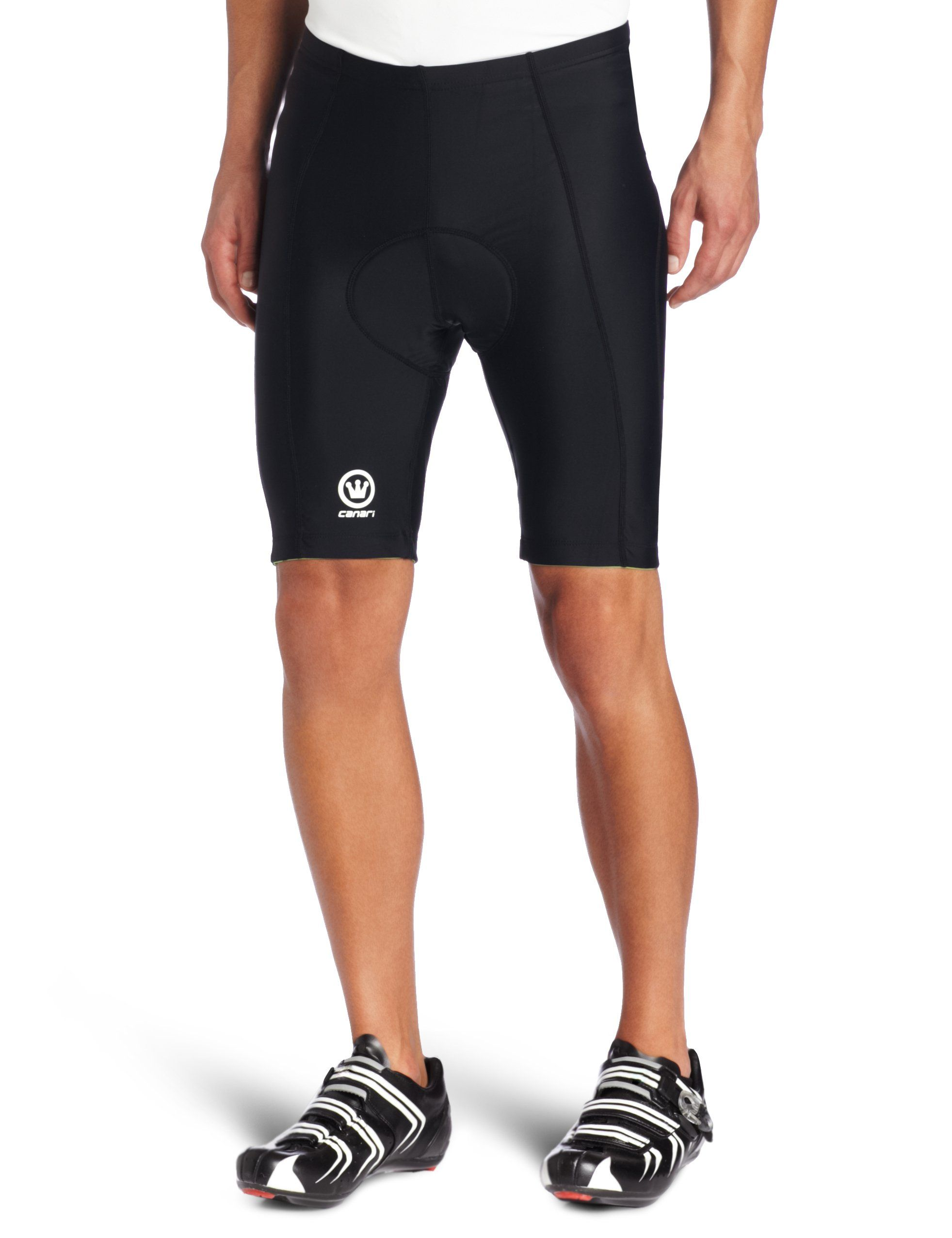 Canari Velo Gel Cycling Short Mens (Black) X-Large. 82% nylon 322786714
