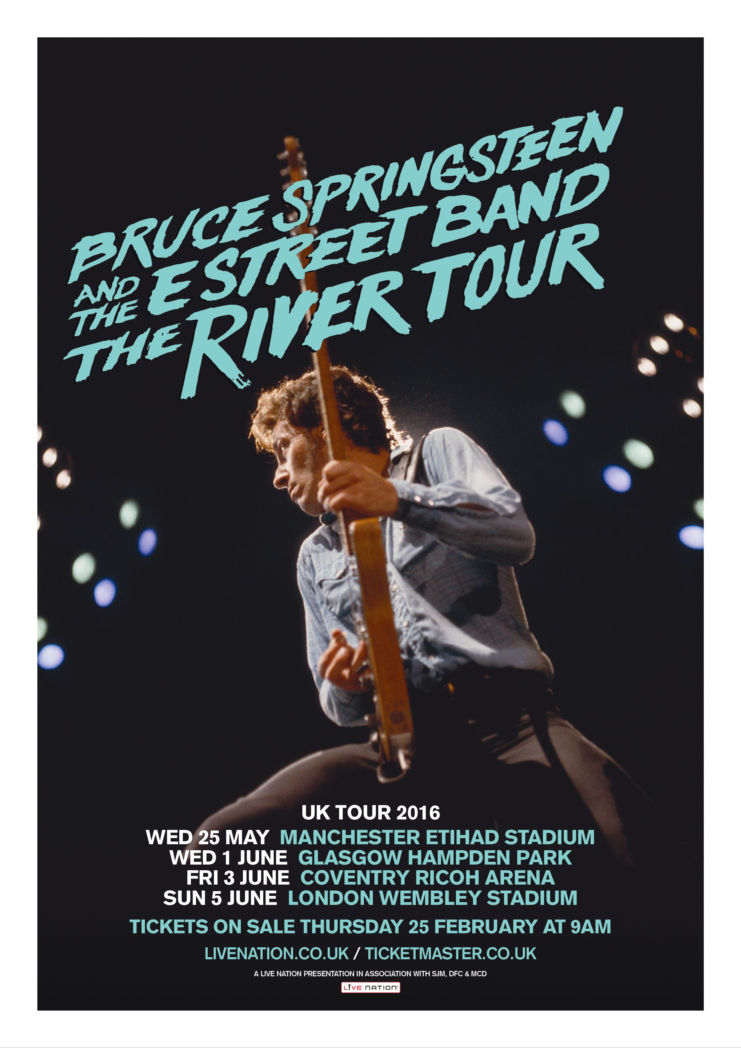 Bruce Springsteen And The E Street Band The River Tour