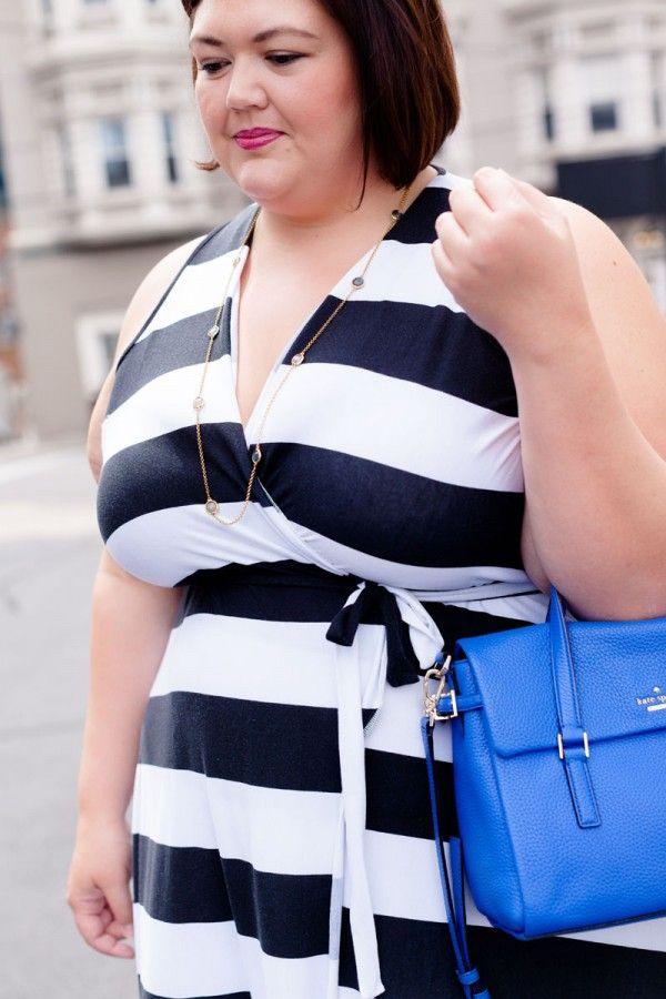 3a1130f402b Plus size fashion blogger Authentically Emmie in a Rebdolls dress