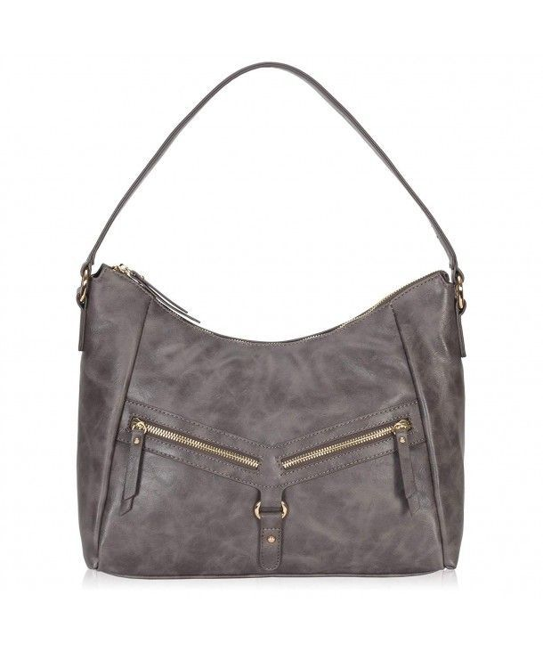 36c9660fc3ed Slouchy Hobo Shoulder Bags for Women Vintage Crossbody Purses - Dark Grey -  C9183M4SNAM  hobo  bags  handbags  style  gift  darkgreypurse
