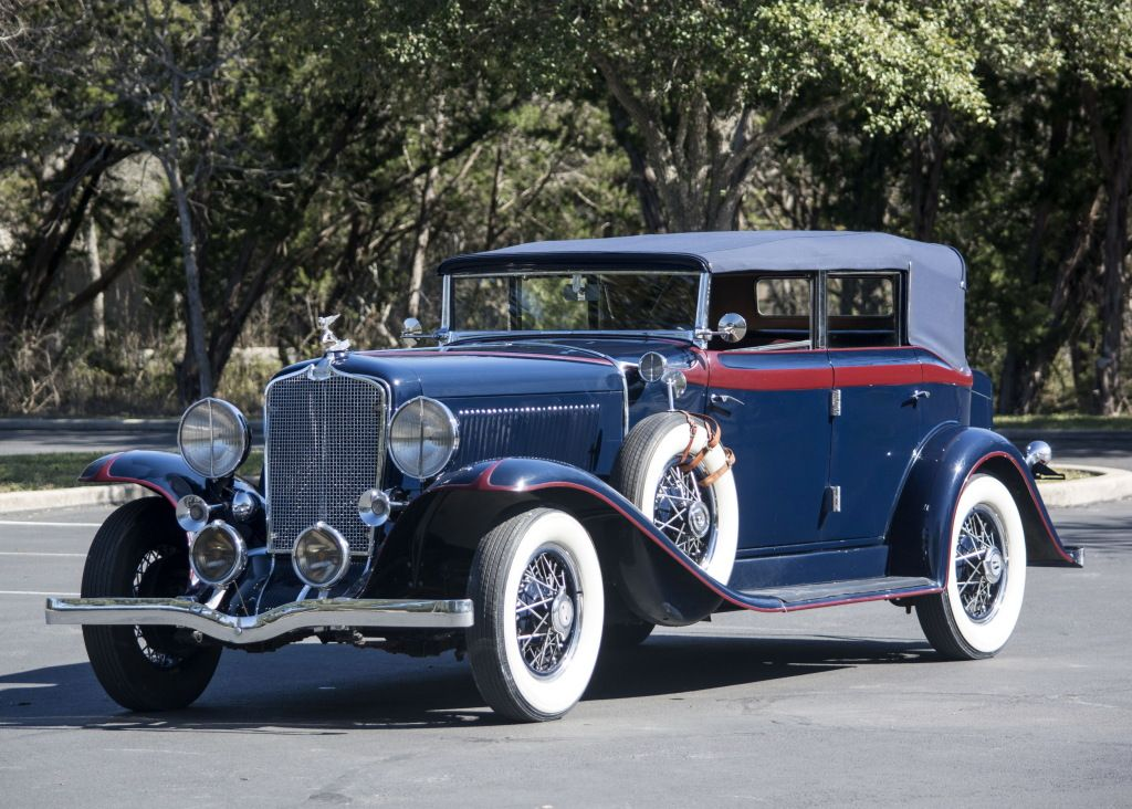 1931 Auburn 8-98 Standard Phaeton Sedan   Auburn 8 98 Standard ...